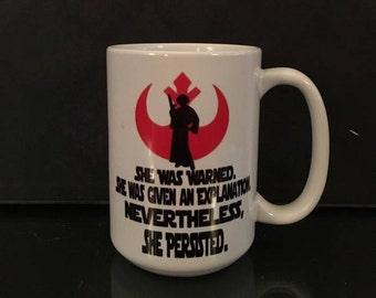 STAR WARS Feminist Coffee Mug