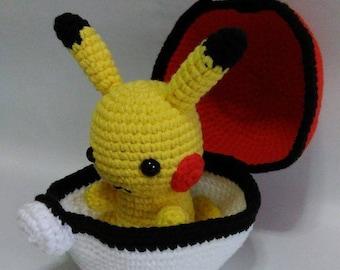 Pokemon Picachu amigurumi