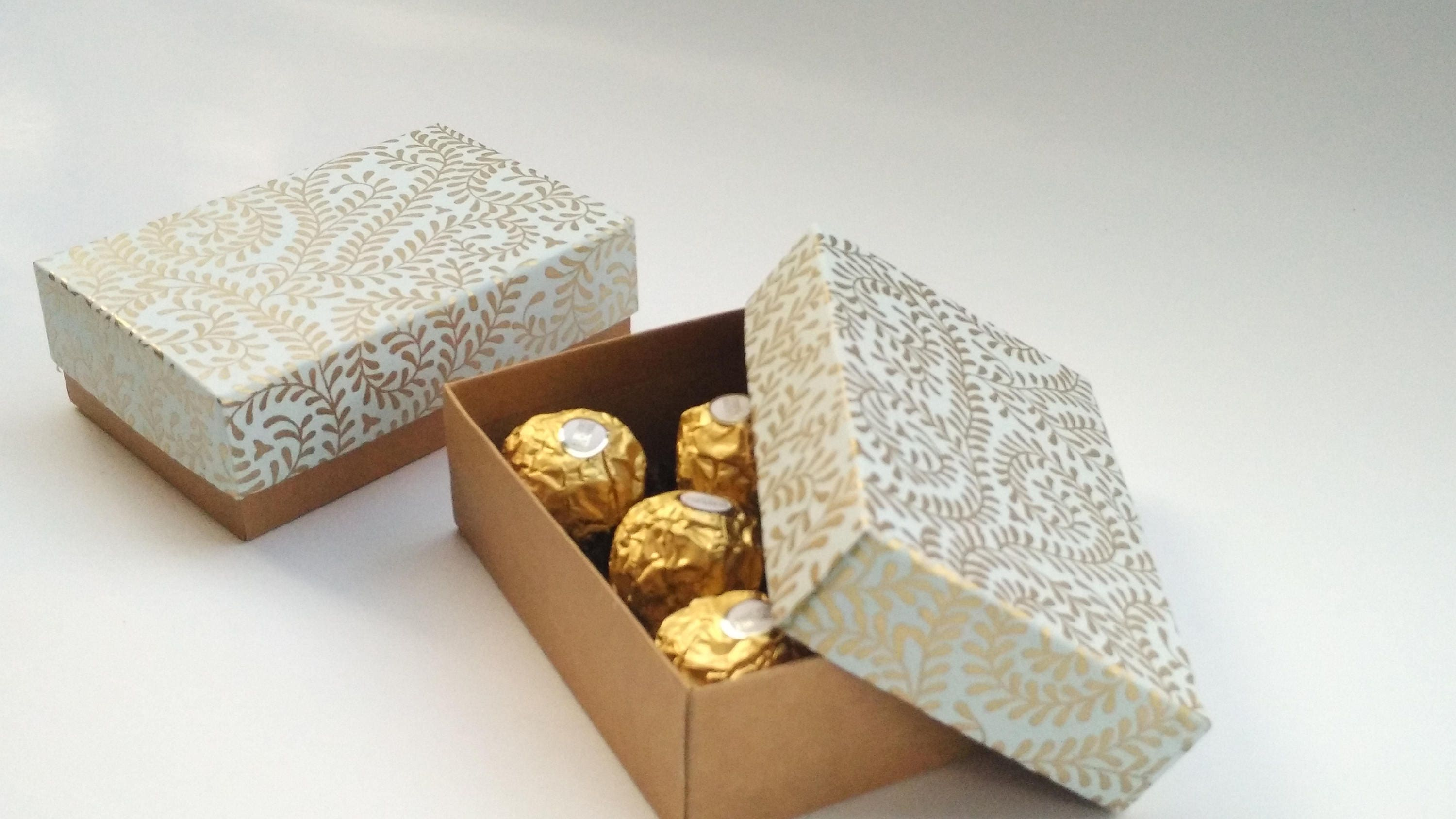 Wedding favor box, Packaging box, chocolate packaging box, 10 light ...