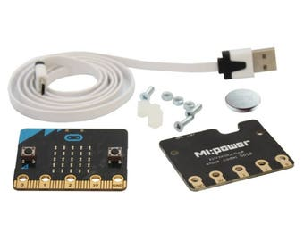 BBC micro:bit with MI power Board and Cable