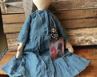 Primtive Simple doll