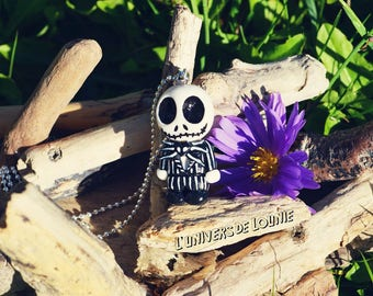 Jack Skellington Chibi necklace / glow / Mr Jack / Halloween / Nightmare