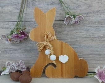 animal rabbit wood