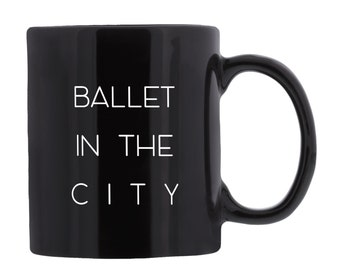 Ballet in the City Coffee Mug