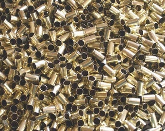 45 ACP Once Fired Brass 250 + Pieces. Cleaned and Polished, Perfect for Jewelry and Crafts. Range Brass, Supplies, Crafting, Steampunk, DIY