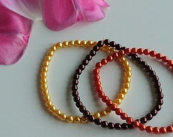 Fall Trio bracelet
