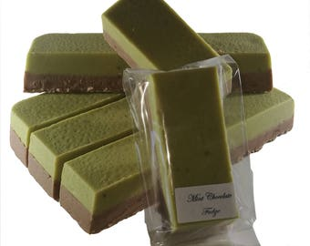 Mint Chocolate Fudge - Delicious Handmade Old-Fashioned Fudge