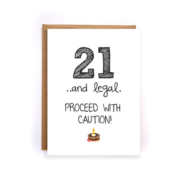 Best Funny 21st Birthday Cards For Her Image Collection