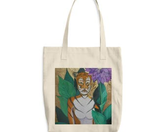 Tigress Cotton Tote Bag