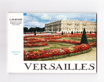 Versailles Palace in France Travel Booklet Printed in France 1962