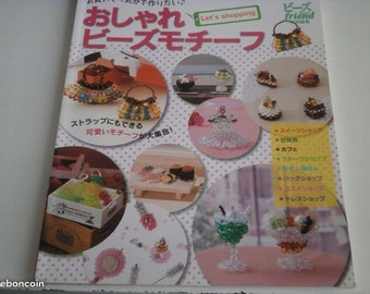 Book in Japanese for creations in beads.