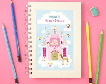 Personalised Fairy Notebook (2 designs available)
