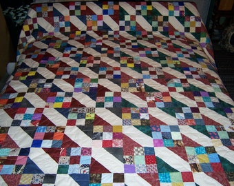 Alpine Nine Patch Quilt