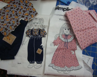Simplicity doll clothing 6