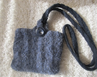 Small purse, felted wool