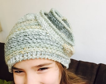 Crochet hat for kids and adults
