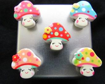Cute magnet set, Fridge magnet set, Refrigerator magnets, Free Shipping, Strong magnets, neodymium magnets 609