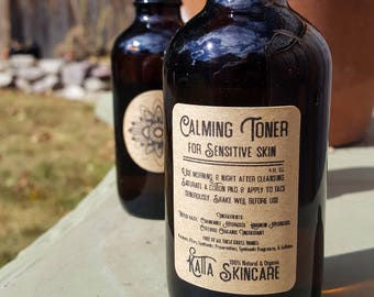Calming Toner for Sensitive Skin