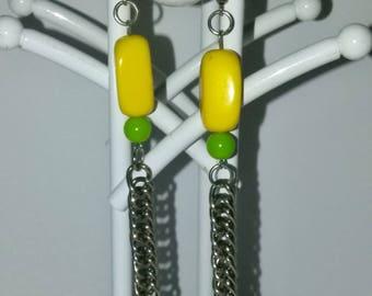 Chain Detail Earrings