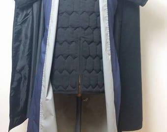 PACK Commander Prince Ulrik costume Cape Gambison, Long vest set