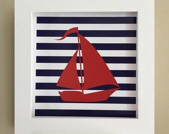 Nautical Sailboat