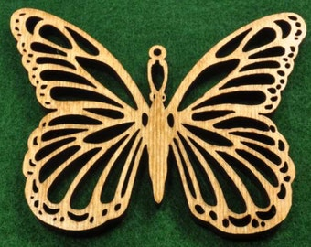 Wood Butterfly Ornament