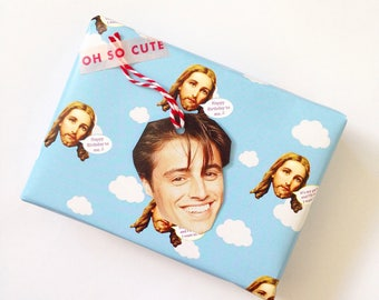 Sassy Jesus Christmas Wrapping paper!