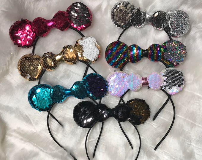 One size reversible Minnie ears
