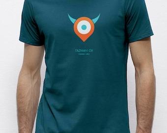 Tazman Ox Ocean | T-shirt | Eco-friendly