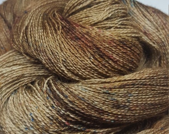 Baby Alpaca lace, hand dyed 100g