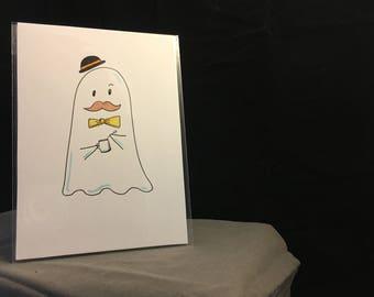 Sir Ghost: Original 5 x 7