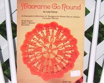 Macrame Go Round by Judy Palmer Vintage