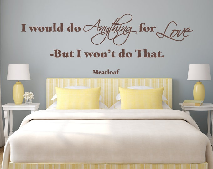 Master Bedroom Decals - JadeDecals