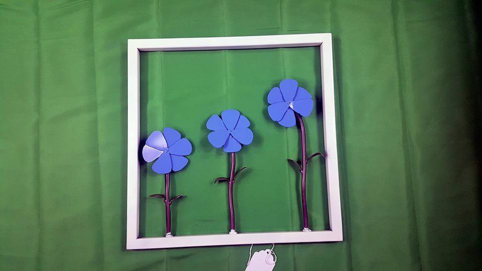 Umrahmt von Blumen-Wand-Dekor