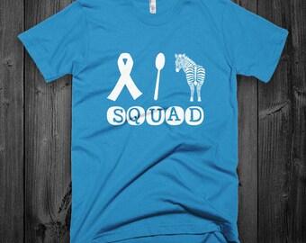 Chronic Illness Squad Adult Shirt - YOUR COLOR