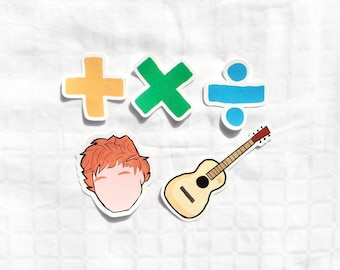 Ed Sheeran Sticker Pack