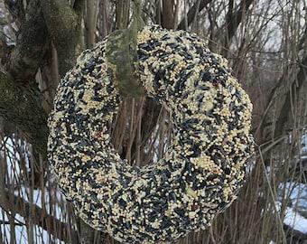 """9"""" Bird Seed Wreath"""