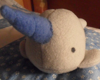 Small Stuffed Narwhal