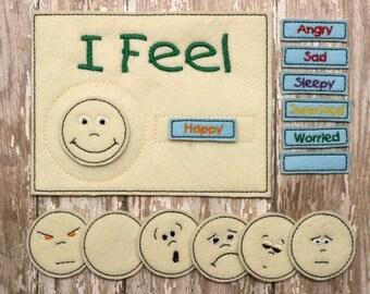 Felt Emotions Chart
