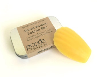 Cocoa Butter Lotion Bar - Lavender Lotion Bar