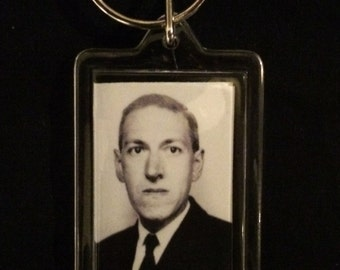 HP Lovecraft Keychain