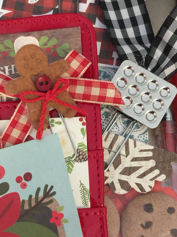 Gingerbread Cookie and Muffin Tin Planner Clips- 2