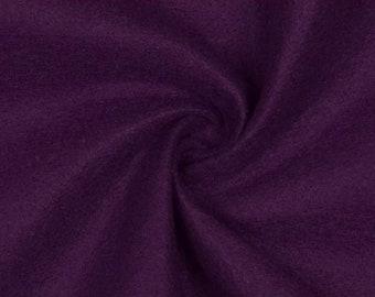 Fabrics-City Violet felt fabric 2 mm-180 cm clothing deco crafts fabrics, 2661