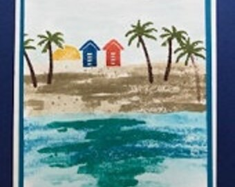 Island Paradise Greeting Card