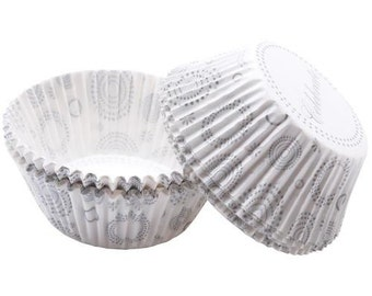 Celebrate Wilton Standard Cupcake Liners Baking Cups Muffin Cups - wedding anniversary shower - wedding cupcake liners