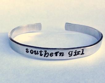 Southern Girl- Cuff Bracelet