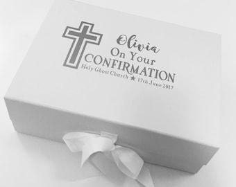 Confirmation Keepsake Gift Storage Box