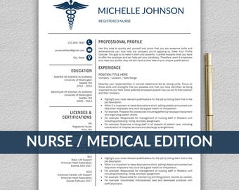 nursing cv template word