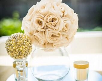 Paper flower ball etsy rosette paper flower ball mightylinksfo