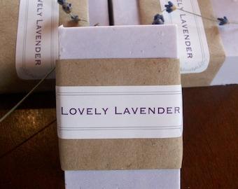 Lovely Lavender Goats Milk Soap